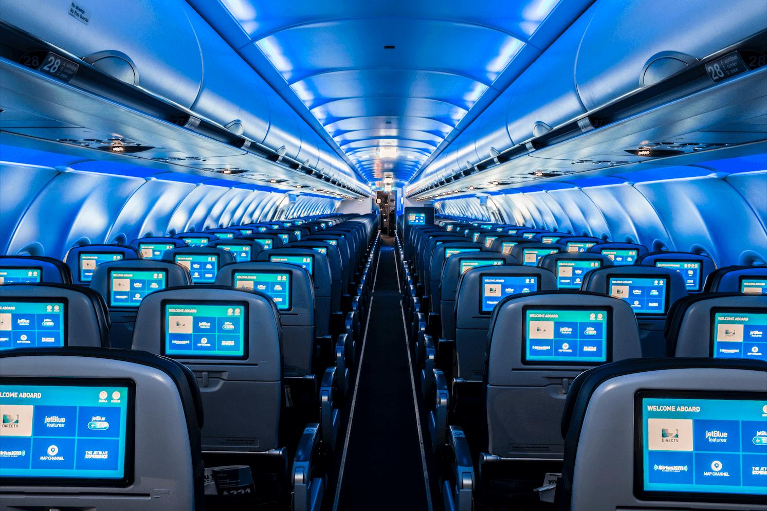 A321 Classic interiors