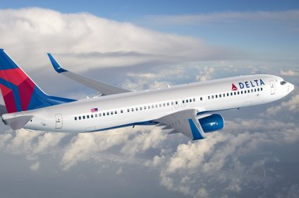 Delta Boeing 737 Carribean scaled