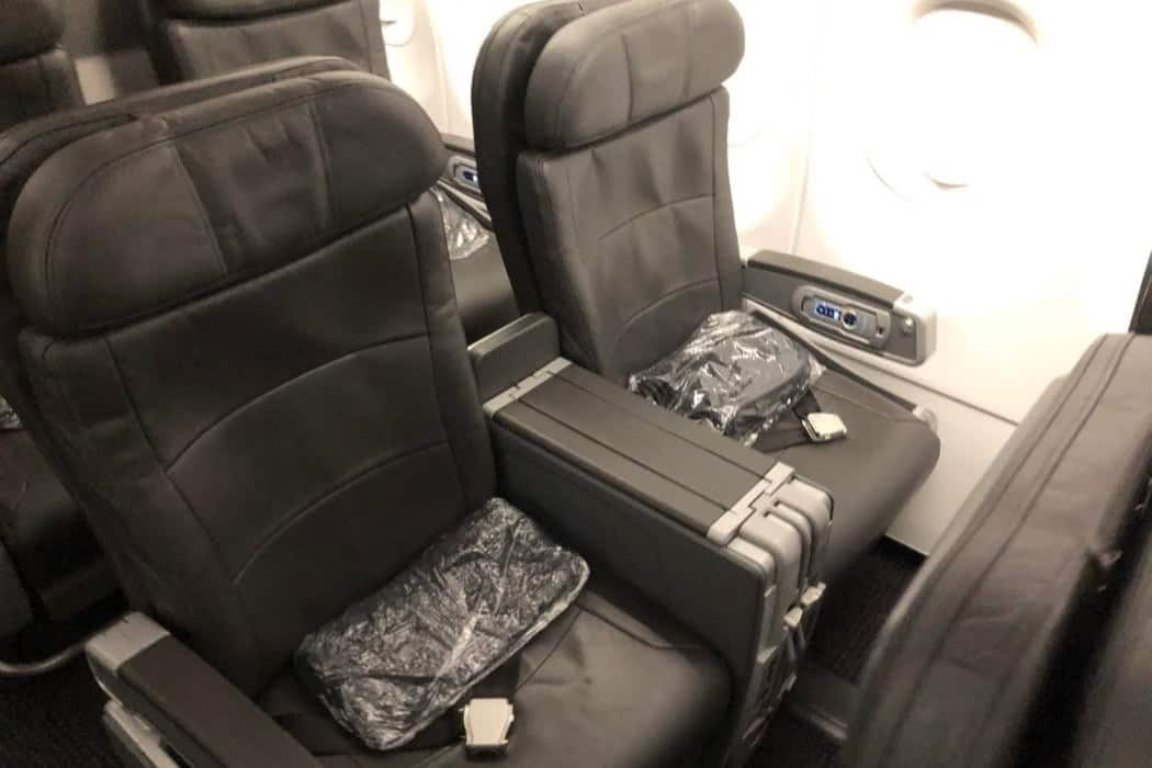 review american airlines a321 domestic first class mco dca 5