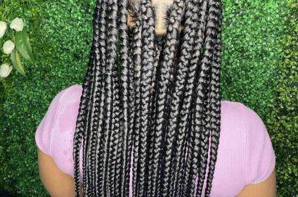Knotless & Beads Braids